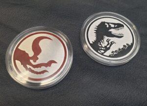 dinosaur collectors coin